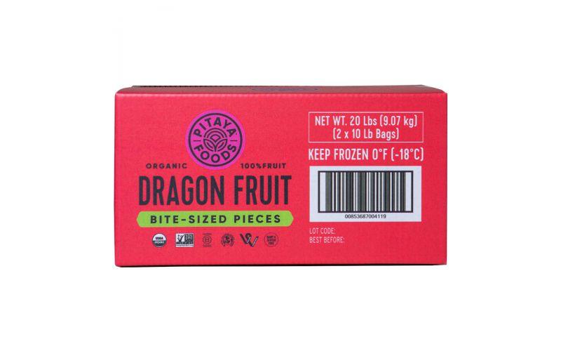 Frozen Organic Pitaya/Dragon Fruit Cubes