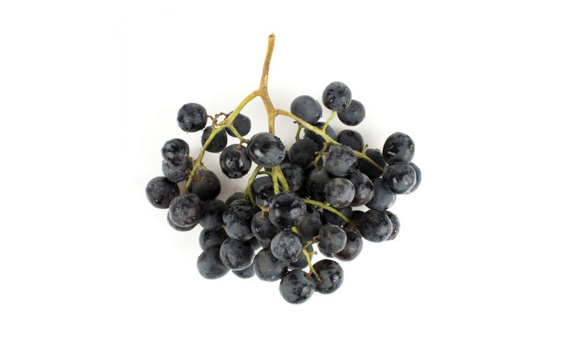 Large Black Seedless Grapes
