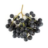 Large Black Seedless Grapes