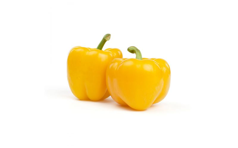 Greenhouse Yellow Peppers