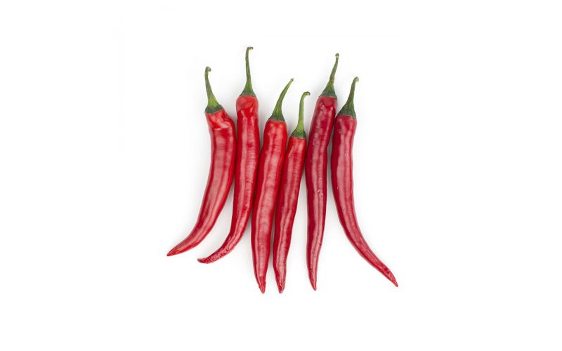 Red Long Hot Peppers