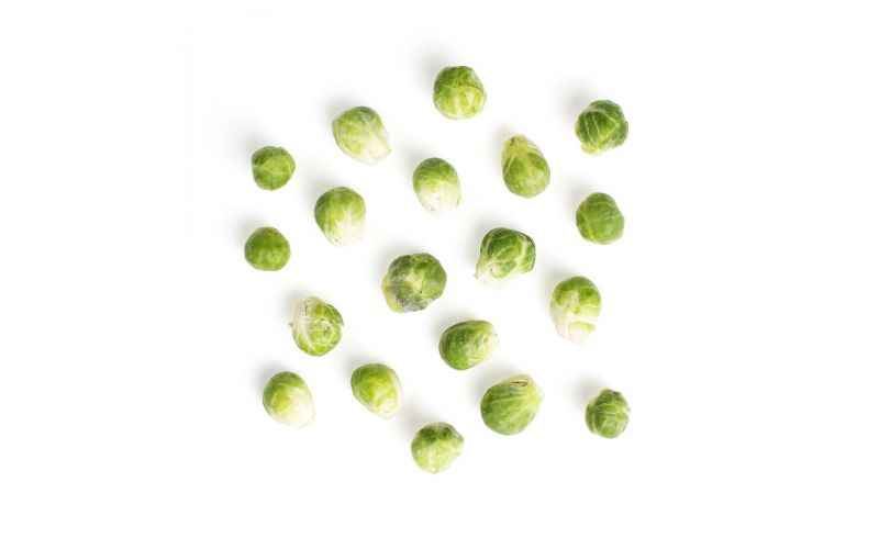 Cleaned Brussels Sprouts